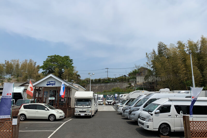 キャンピングカー・モーターホームのクラフト・デルタリンク横浜